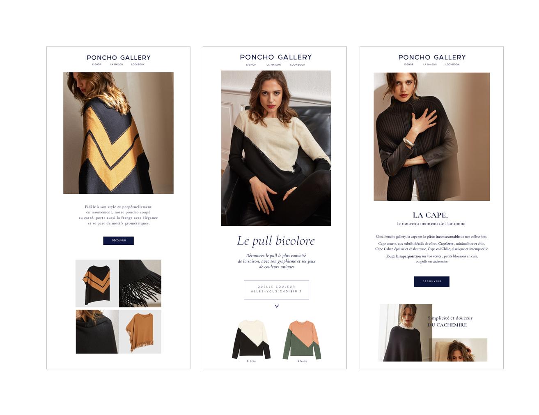 Le brief : Trouver une identité globale à la marque L'idée ? Associer raffinement et modernité pour positionner la marque sur le luxe chic et bohème . Concept DA - Casting - Suivi de stylisme - DA sur prise de vue - Print / web